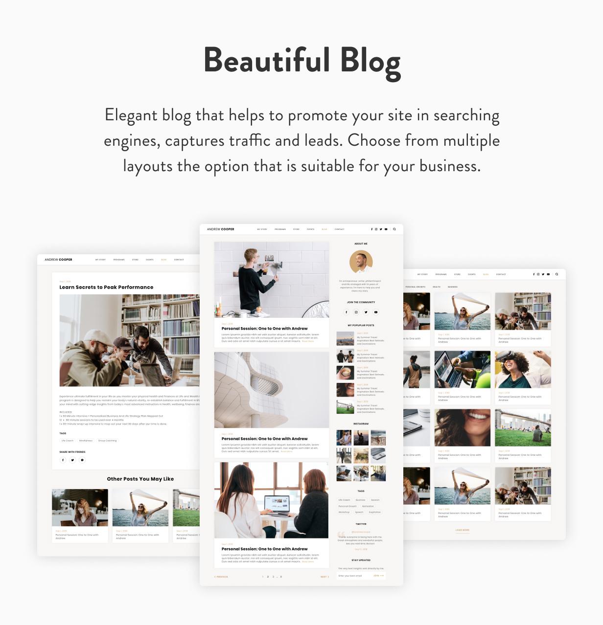 Leadership — Coach WordPress Theme - 17