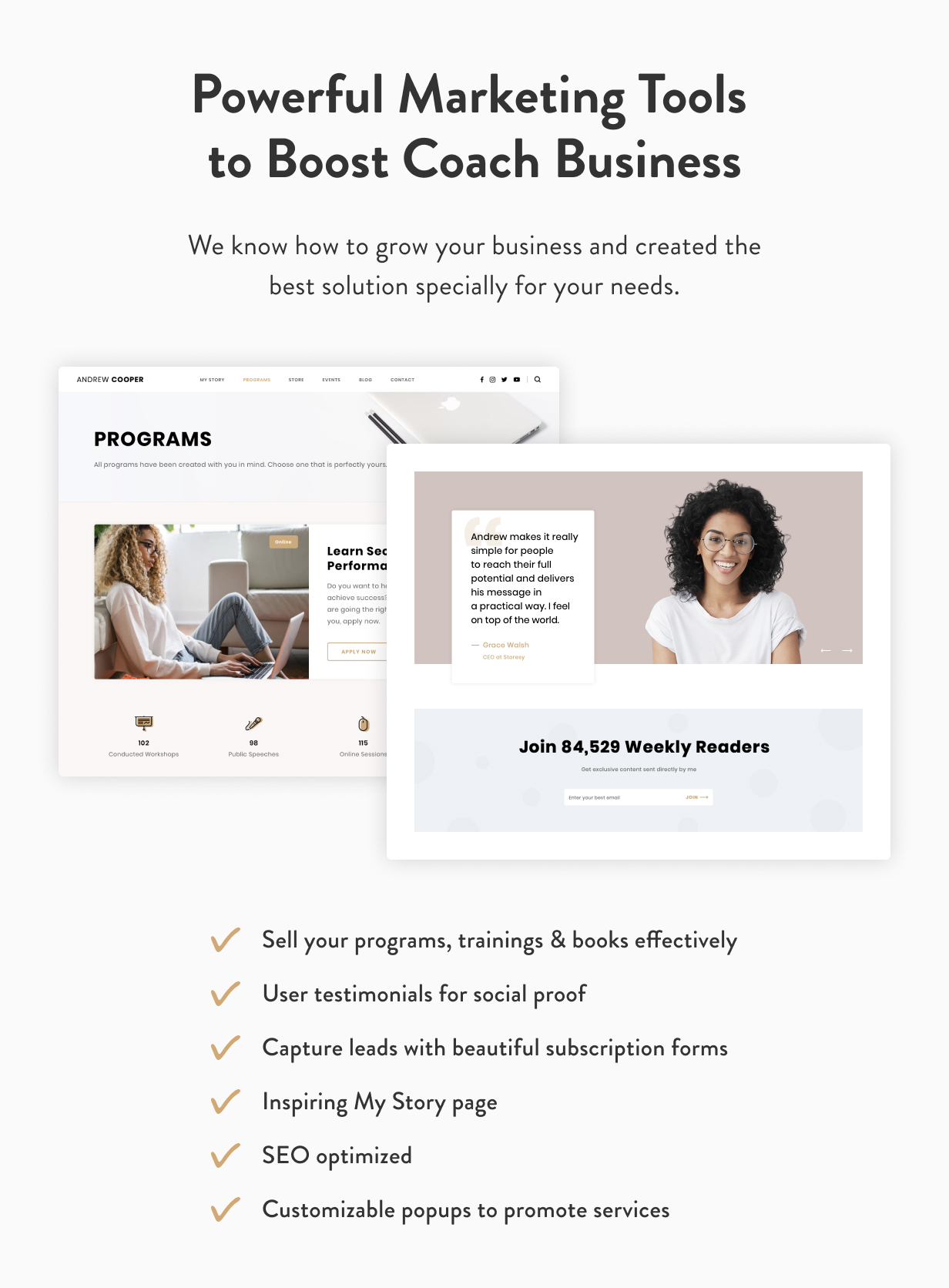Leadership — Coach WordPress Theme - 6
